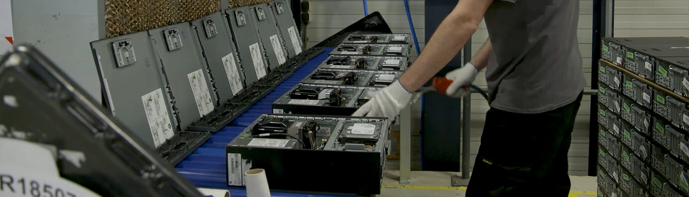 Refurbishing computers - Flex IT Distribution